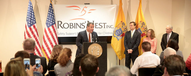 Governor Christie announces 500 housing vouchers for Housing First programs in New Jersey