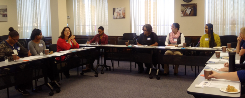 A pediatric roundtable held at the Camden Coalition