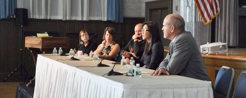 Panelists speak at the 3rd annual Good Care Collaborative conference